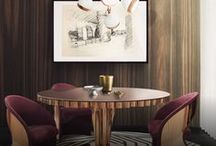 Dining Room Inspirations / Enjoy a perfect meal surrounded by an amazing dining room interior design, from dining room chandeliers to all kind of designer lighting