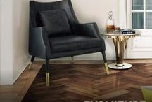 Mid-Century Furniture / The best mid-century modern furniture is now a reality with Essential Home. This contemporary brand goes amazing with our modern home lighting, check it out www.essentialhome.eu