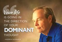 Andrew Wommack Quotes / Inspiration quotes from Andrew Wommack and other AWM/Charis instructors. Faith quotes. Grace quotes.