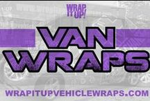 Van Wraps / Don't fall into the same old plain van slump. Add some flair to your van's exterior with a wrap from our Kansas City professionals! From minivans to utility vans, Wrap It Up can create a custom wrap for any type of van. With years of experience and an industry reputation for excellence, you can rely on our team to handle your van wrap needs. We go above and beyond to ensure you receive the finished product you desire.