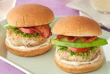 Recipes on a Roll / For summer fun, on a bun, try these recipes for hot dogs, burgers and sandwiches – perfect for outdoor eating or anytime.