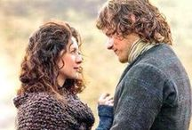 Jamie and Claire / The best couple in drama.
