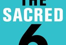 The Sacred 6 / JB's Sacred 6 process is an adaptable, simple step-by-step process for focusing your attention and recovering your dreams. It is about getting things done and focusing on one's life story, encompassing one's journey and purpose.