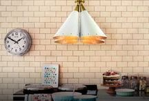 Kitchen Inspiration / If need some inspiration for your kitchen design ideas, this is the place to be. From kitchen lights fixtures to this year's trends, every decor tips is here.