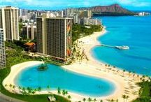 Hawaii  / Pins of Hawaii's Best Romantic Getaway & Honeymoon Spots, Resorts & Beaches. / by Excellent Romantic Vacations