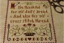 Cross Stitch and Embroidery / by Kathy Oldenburg
