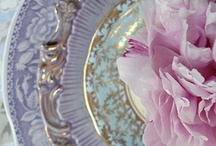 ❦♣~~♣Beautiful Tablescapes (China / Crystal, Silverware & Settings)♣~~♣ / I love beautiful tablescapes set with gorgeous dishes, glassware, flatware, and centerpieces.  I'd love to have settings for each season and holiday.   / by Kris Beck