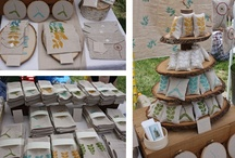 pres Booths, displays and table / presenting the goods / by Karin Edens