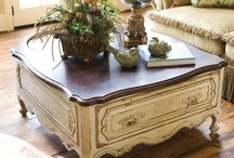 ♥♠♥ Furniture Love ♥♠♥ / I absolutely love furniture that is out of the ordinary, has ornate markings and is of European design.