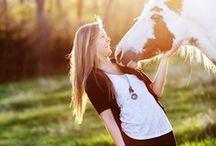 horses / by Belaya Elena