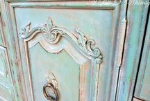 Painted Beauties / Furniture or anything else that is painted and made to look different than it was planned - turns out more beautiful than the original item.