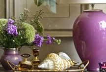 Vignettes / How to decorate with accessories to make beautiful displays.