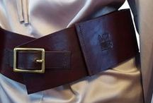 Leather Fashion Belts - Our Work from MP Bastian / Leather Fashion Purse Belts