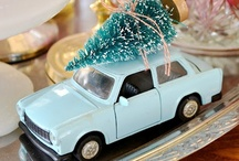 Christmas / Christmas ideas, decorations, stockings, and ornaments, including glitter houses