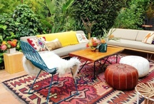 Home - Outdoor living  / Balcony and Yard Ideas / by Rebecca Boese