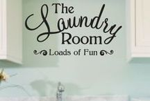 Home - Laundry / Laundry rooms / by Rebecca Boese