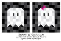 Quilt Blocks, Layouts, & Borders / These designs can easily be adapted to quilt needlepoint both small and large.