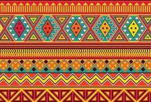 Needlepoint Inspiration - Pattern & Geometrics / geometrics and patterns that are great for adapting to needlepoint.