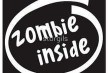 """ZOMBIES & """"THE WALKING DEAD"""" / by My Hope Island"""