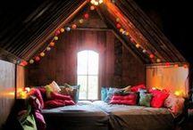 Home - Attic / by Rebecca Boese