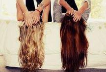 Locks of hair - Colours