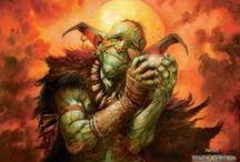 Dungeons & Sorcery /  D&D, Fantasy RPG Illustrations, Concept art, Video game,  Action Figures....
