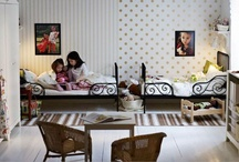 The Girls' Room / A shared space for two little girlies. / by Stacey Woods