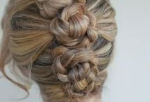 Hair styling ideas for the girls / by Cindy Holmes