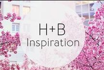 H+B Inspiration / Inspired by vibrant color