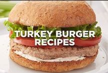 Turkey Burger Recipes / take a big, juicy bite  / by Jennie-O®