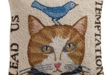 Rug hooking ideas / by Beverly Frensley