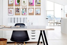 Home Office / ideas for a home office, modern office, or any work space