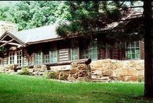 Iowa State Park Lodges and Shelters / Iowa state park lodges and shelters are beautiful venues perfect for family gatherings, weddings, reunions, parties and more.  / by Iowa Dept of Natural Resources