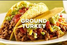 Ground Turkey / a lean alternative to ground beef  / by Jennie-O®