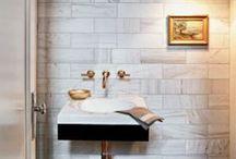 Bathrooms / by PATRICIA GIFFEN DESIGN