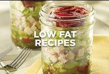 Low-Fat Recipes / high on taste / by Jennie-O®