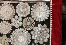 Doilies repurposed. / Old Crocheted and tarted doilies. What can I do with them. Lets find out.
