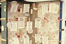 Wedding Table Plans / Ideas on how to create fabulous wedding table plans