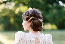 Wedding Hairstyles / Beautiful ideas for your wedding hair...hair up, hair down, straight, curly.... here are some fabulous ideas