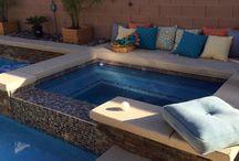 pools / by Chris Wickersham Tryon