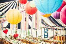 Marquee Wedding / Marquee wedding styling ideas