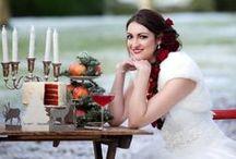 Christmas Wedding Decor / Christmas wedding ideas