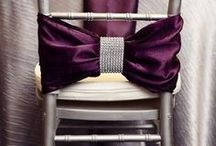 Purple and Silver Wedding Styling / Purple and Silver Wedding Styling Ideas