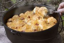 Dutch Oven Recipes / Great Dutch oven recipes to enjoy at the campsite, in the backyard or anywhere outdoors. / by Iowa Department of Natural Resources