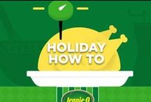 Holiday How-To / Everything you need to know for Holiday cooking. Save and share so you have them for your big feast! #holiday #Thanksgiving #turkey #howto #infographic #tips #cooking #JennieO http://www.jennieo.com/ / by Jennie-O®