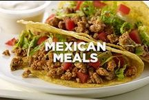 Mexican Meals / Get ready. We're taking over ground turkey in your favorite Mexican meals! Make the switch with these easy recipes.  / by Jennie-O®