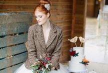 Tweed Wedding Styling / Cool ideas for tweed wedding styling