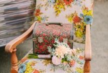 Eclectic Floral Wedding Ideas / Beautiful ideas for eclectic floral weddings