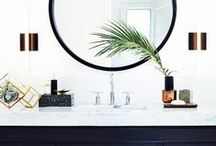Bathrooms / Bathroom, half bath, shower, vanity
