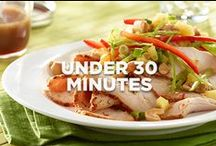 Recipes in Under 30 Minutes / Prepare these delicious, quick fix meals for your family in under 30 minutes / by Jennie-O®